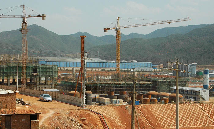 公司835项目单项主体工程施工进展顺利